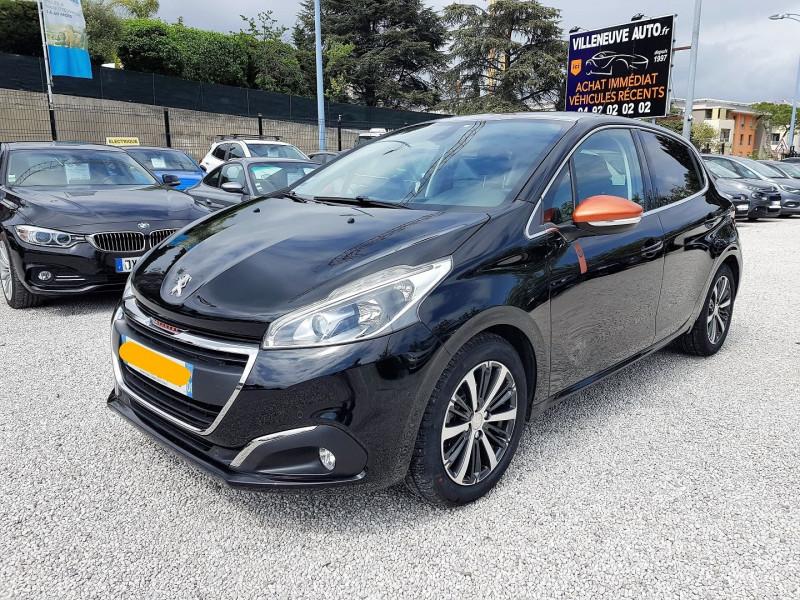 Peugeot 208 1.2 PURETECH 110CH ROLAND GARROS S&S EAT6 5P Essence NOIR Occasion à vendre