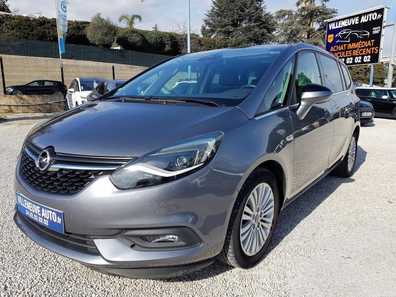 Opel ZAFIRA 1.4 TURBO 140CH ELITE Essence ANTHRACITE Occasion à vendre