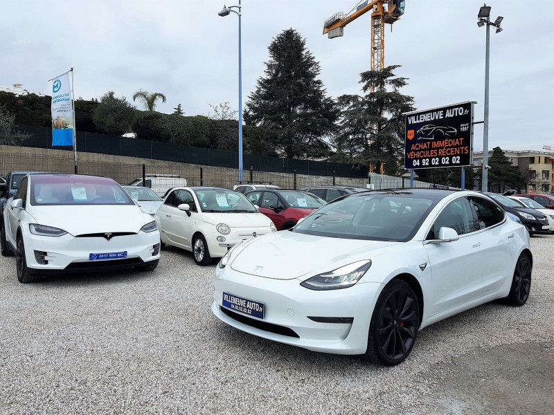 Tesla MODEL 3 PERFORMANCE PUP AWD UPGRADE Electrique BLANC Occasion à vendre