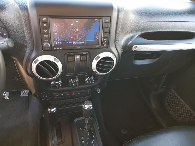 Photo 4 de l'offre de JEEP WRANGLER 2.8 CRD 200 FAP SAHARA BVA à 32490€ chez Villeneuve Auto