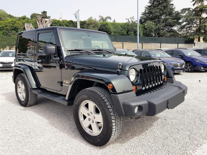 Jeep WRANGLER 2.8 CRD 200 FAP SAHARA BVA Diesel VERT FONCE Occasion à vendre