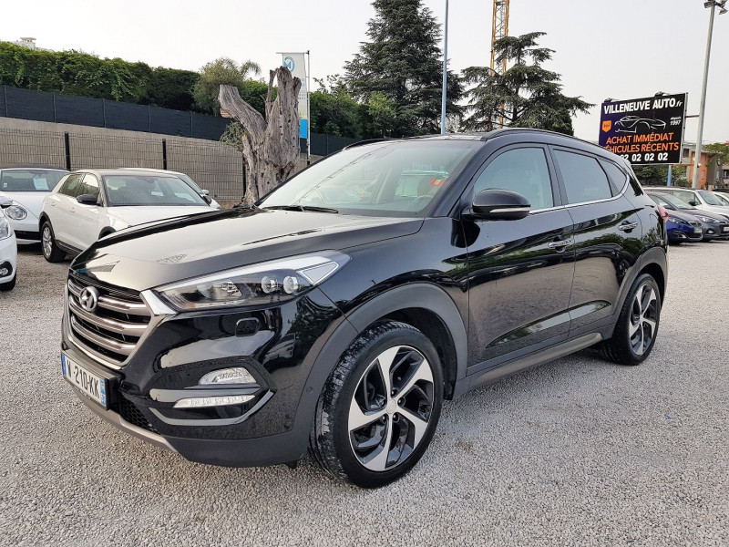 Hyundai TUCSON 2.0 CRDI 185CH EXECUTIVE 4WD BVA6 Diesel NOIR  Occasion à vendre
