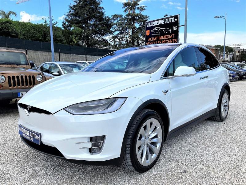 Tesla MODEL X 100D DUAL MOTOR Electrique BLANC Occasion à vendre