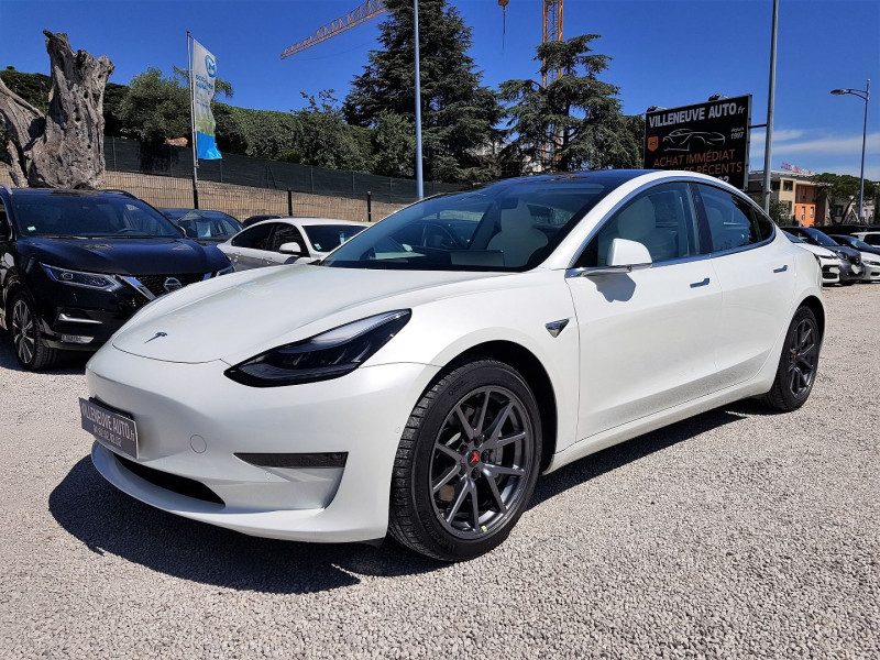 Tesla MODEL 3 LONG-RANGE DUAL MOTOR AWD +FSD Electrique BLANC Occasion à vendre