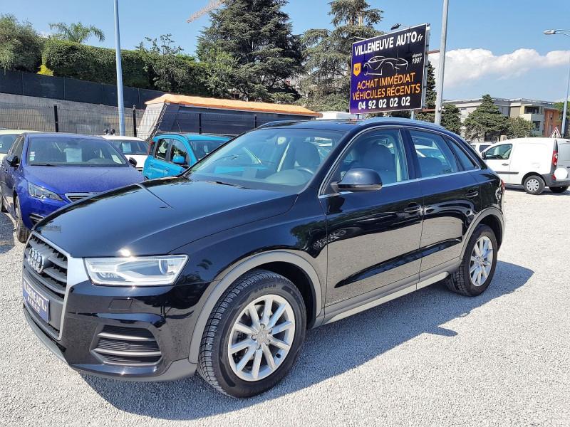 Audi Q3 2.0 TDI 150CH BUSINESS LINE QUATTRO S TRONIC 7 Diesel NOIR Occasion à vendre