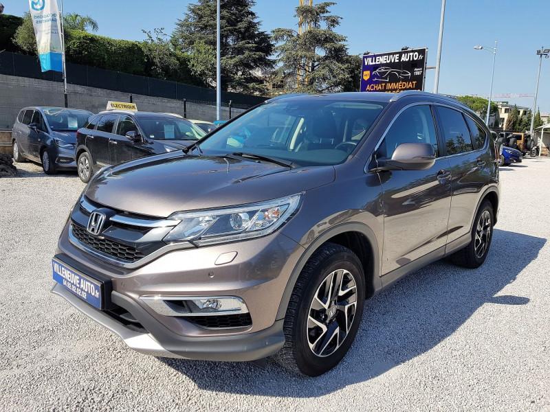 Honda CR-V 1.6 I-DTEC 160CH ELEGANCE NAVI 4WD AT Diesel MARRON Occasion à vendre