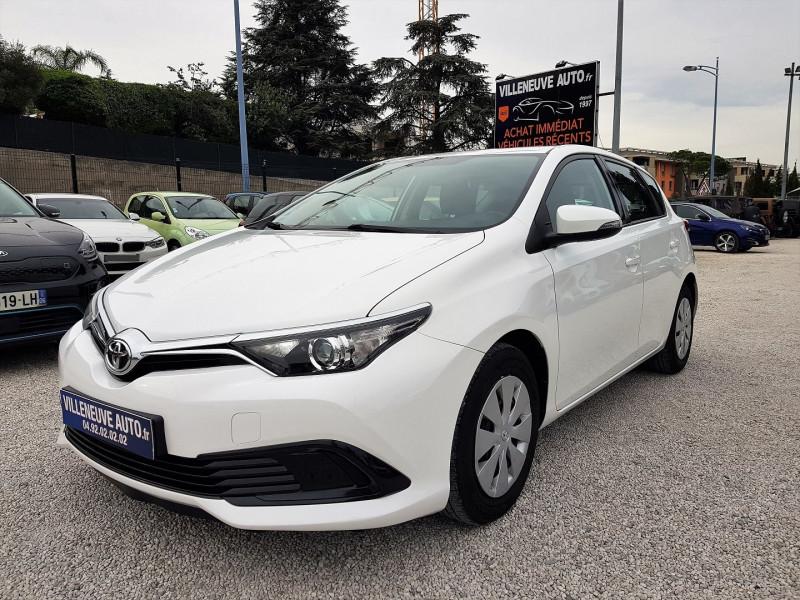 Toyota AURIS 100 VVT-I TENDANCE Essence BLANC Occasion à vendre