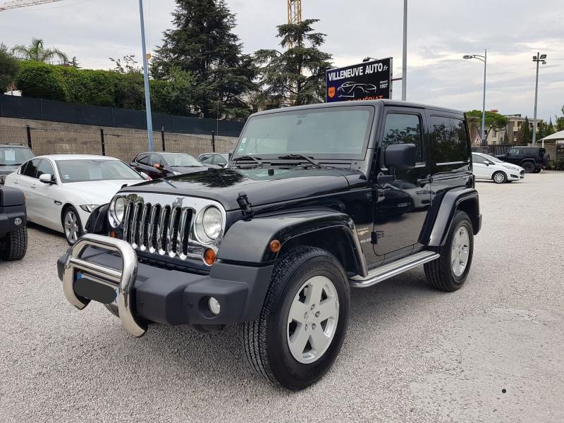 Photo 1 de l'offre de JEEP WRANGLER 2.8 CRD 200 FAP SAHARA BVA à 32900€ chez Villeneuve Auto