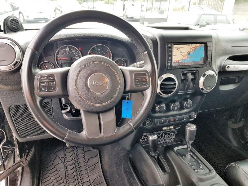Photo 2 de l'offre de JEEP WRANGLER 2.8 CRD 200 FAP SAHARA BVA à 32900€ chez Villeneuve Auto
