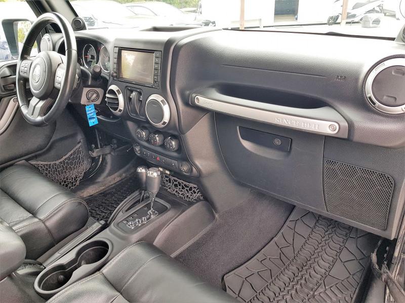 Photo 4 de l'offre de JEEP WRANGLER 2.8 CRD 200 FAP SAHARA BVA à 32900€ chez Villeneuve Auto