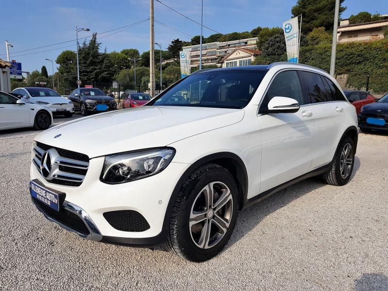 Mercedes-Benz GLC 220 D 170CH FASCINATION 4MATIC 9G-TRONIC Diesel BLANC Occasion à vendre