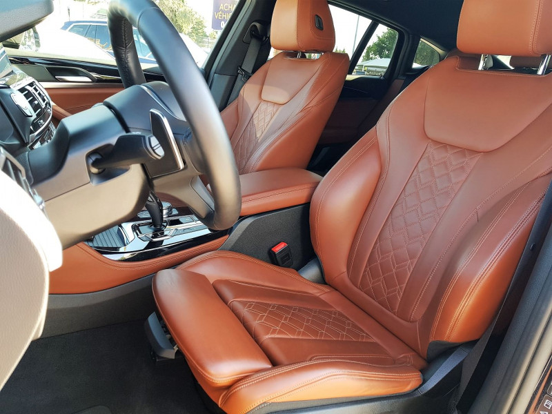 Photo 7 de l'offre de BMW X4 (G02) XDRIVE25D 231CH M SPORT X EURO6C à 54900€ chez Villeneuve Auto