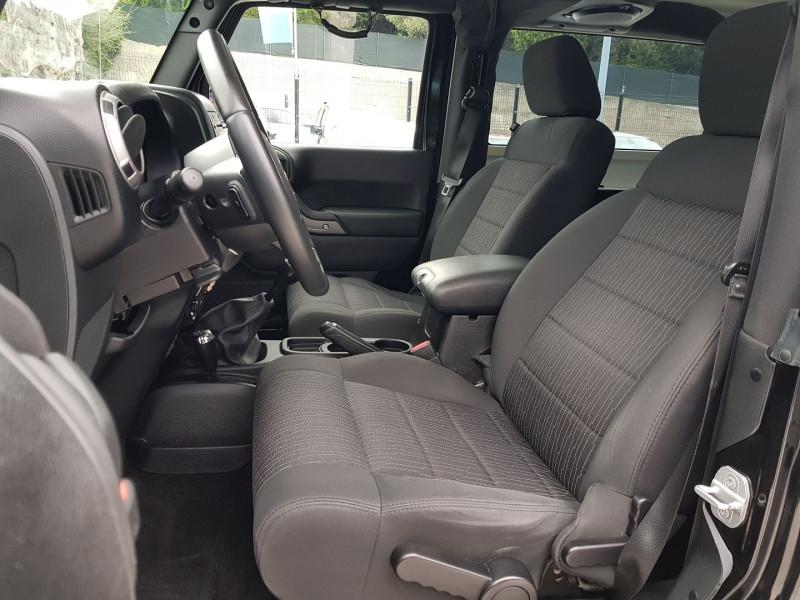 Photo 5 de l'offre de JEEP WRANGLER 2.8 CRD 200 FAP SPORT à 30900€ chez Villeneuve Auto