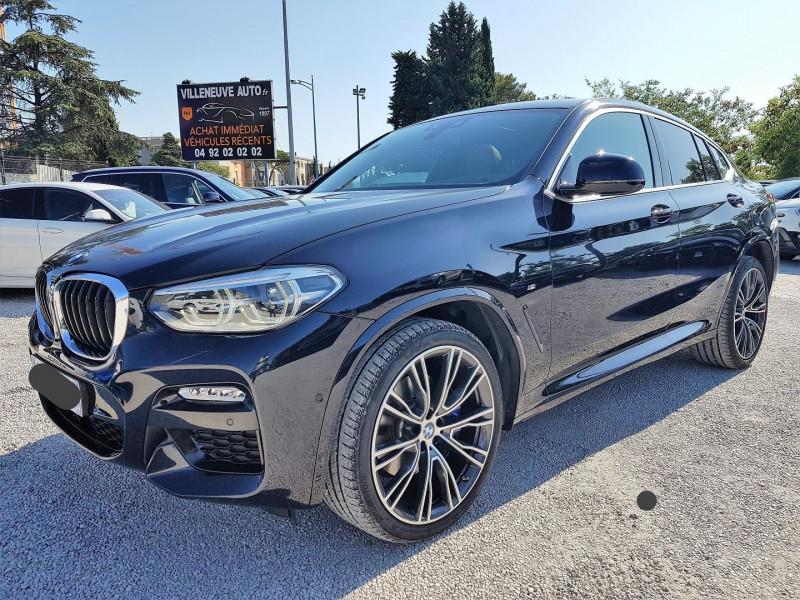 Photo 2 de l'offre de BMW X4 (G02) XDRIVE25D 231CH M SPORT X EURO6C à 54900€ chez Villeneuve Auto