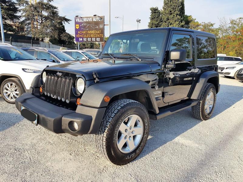 Jeep WRANGLER 2.8 CRD 200 FAP SPORT Diesel NOIR Occasion à vendre