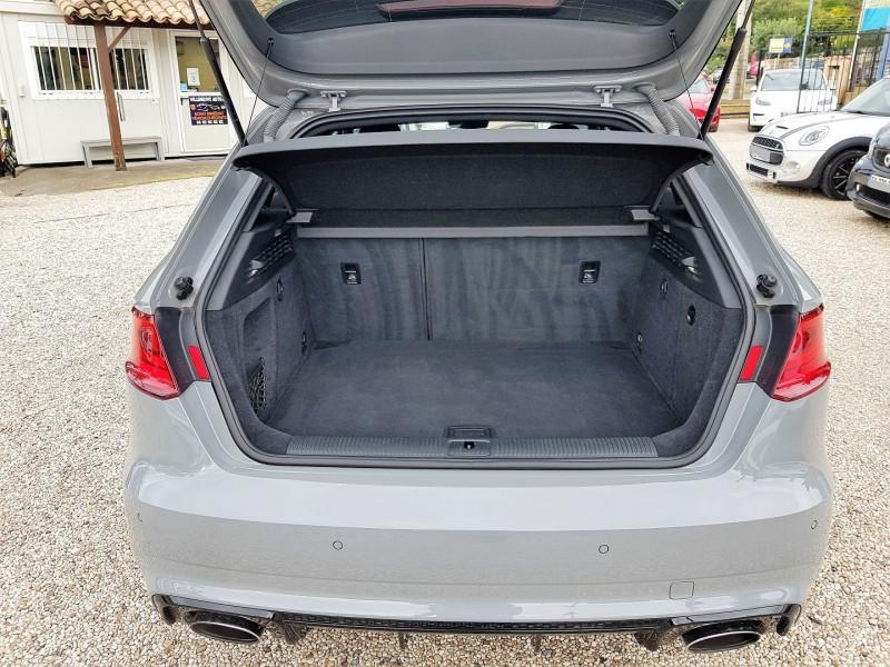 Photo 14 de l'offre de AUDI RS3 SPORTBACK 2.5 TFSI 367CH QUATTRO S TRONIC 7 à 44900€ chez Villeneuve Auto