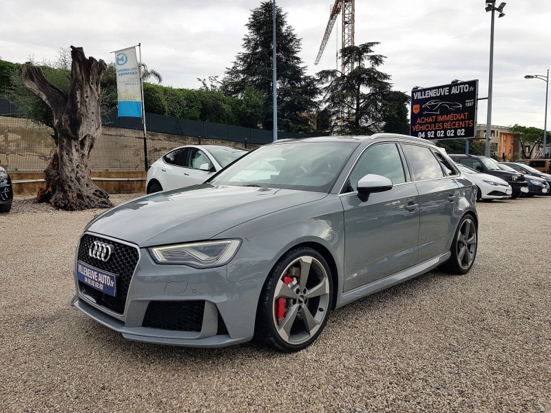 Audi RS3 SPORTBACK 2.5 TFSI 367CH QUATTRO S TRONIC 7 Essence GRIS NARDO Occasion à vendre