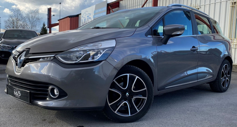 Renault CLIO IV ESTATE 1.5 DCI 90CH Diesel GRIS CASSIOPÉE M Occasion à vendre
