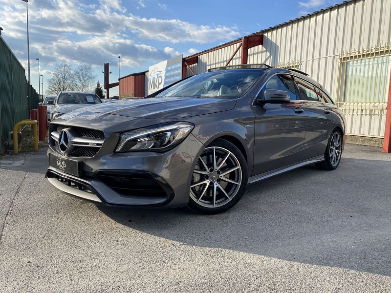 Mercedes-Benz CLA SHOOTING BRAKE 45 AMG 381CH 4MATIC SPEEDSHIFT DCT Essence GRIS MONTAGNE M Occasion à vendre