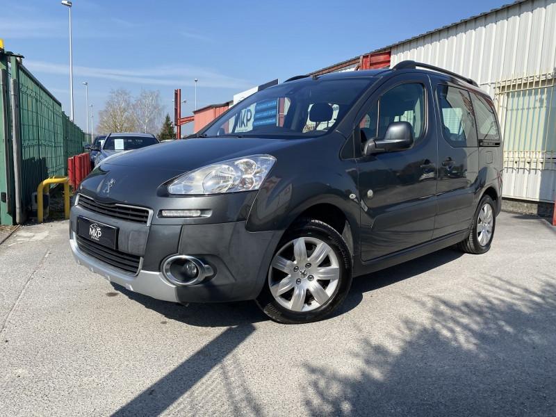 Peugeot PARTNER TEPEE 1.6 HDI92 FAP OUTDOOR Diesel GRIS SHARK MÉTAL Occasion à vendre
