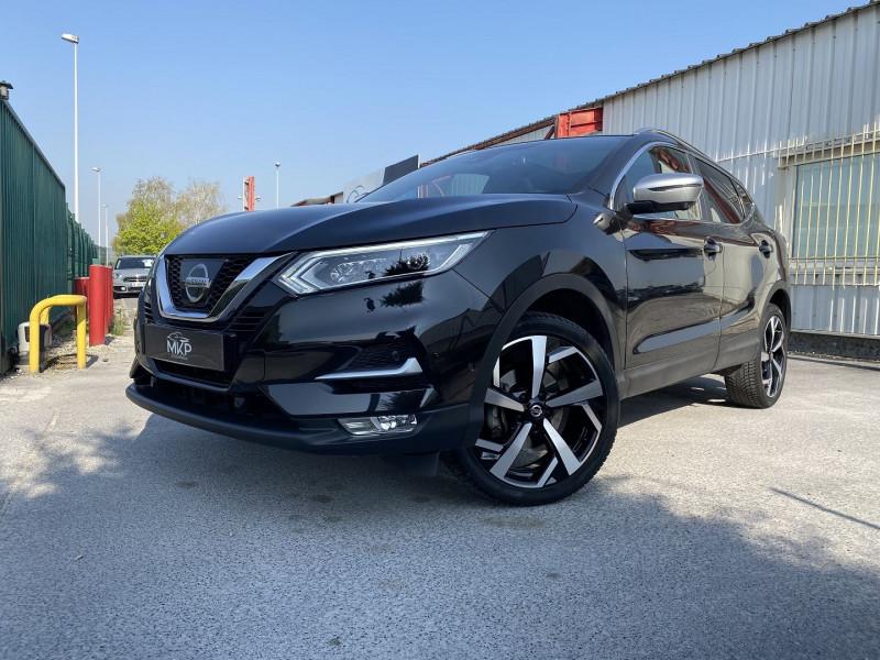 Nissan QASHQAI 1.6 DIG-T 163CH TEKNA+ Essence NOIR MÉTALLISÉ Occasion à vendre
