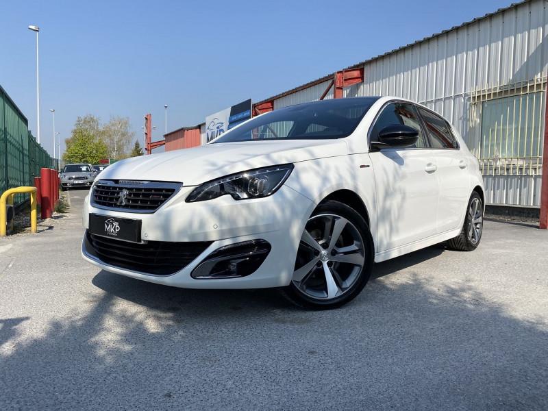 Peugeot 308 1.2 PURETECH 130CH GT LINE S&S 5P Essence BLANC NACRÉ (N) Occasion à vendre
