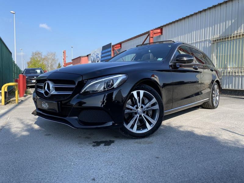 Mercedes-Benz CLASSE C BREAK (S205) 350 E FASCINATION 7G-TRONIC PLUS Hybride NOIR OBSIDIENNE M Occasion à vendre
