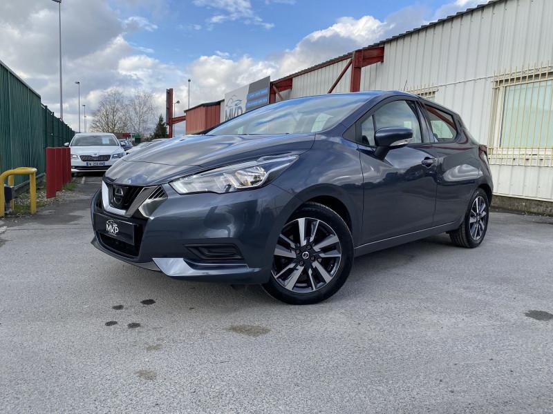Nissan MICRA 0.9 IG-T 90CH N-CONNECTA Essence GRIS ACIER MÉTALL Occasion à vendre