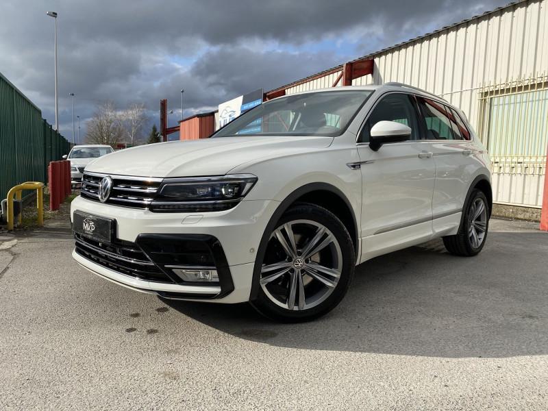 Volkswagen TIGUAN 2.0 TDI 190CH BLUEMOTION TECHNOLOGY CARAT EXCLUSIVE 4MOTION DSG7 Diesel BLANC PUR Occasion à vendre