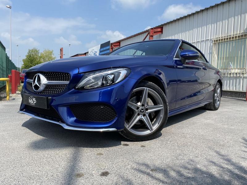 Mercedes-Benz CLASSE C CABRIOLET 180 156CH FASCINATION 9G-TRONIC Essence BLEU CAVANSITE  Occasion à vendre