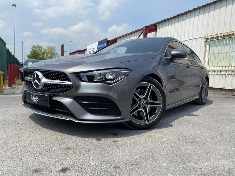 Mercedes-Benz CLA SHOOTING BRAKE 200 D 150CH AMG LINE 8G-DCT Diesel GRIS MONTAGNE M Occasion à vendre