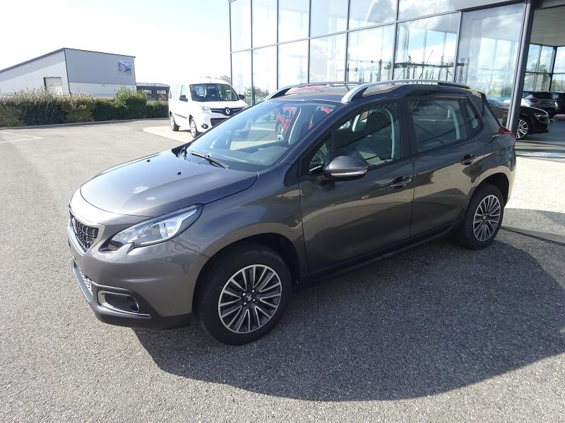 Peugeot 2008 1.2 PURETECH 82CH ACTIVE Essence GRIS PLATINIUM Occasion à vendre
