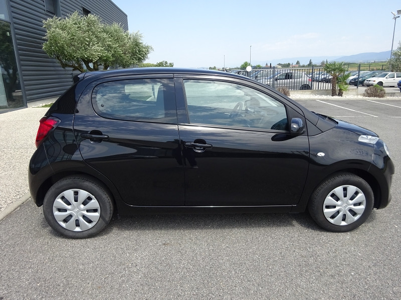 Photo 4 de l'offre de CITROEN C1 VTI 72 FEEL 5P à 9990€ chez 26 AUTO