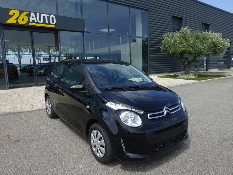 Photo 3 de l'offre de CITROEN C1 VTI 72 FEEL 5P à 9990€ chez 26 AUTO