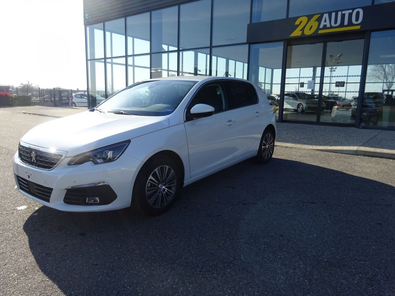 Photo 1 de l'offre de PEUGEOT 308 1.5 BLUEHDI 130CH S&S ALLURE PACK EAT8 à 23990€ chez 26 AUTO