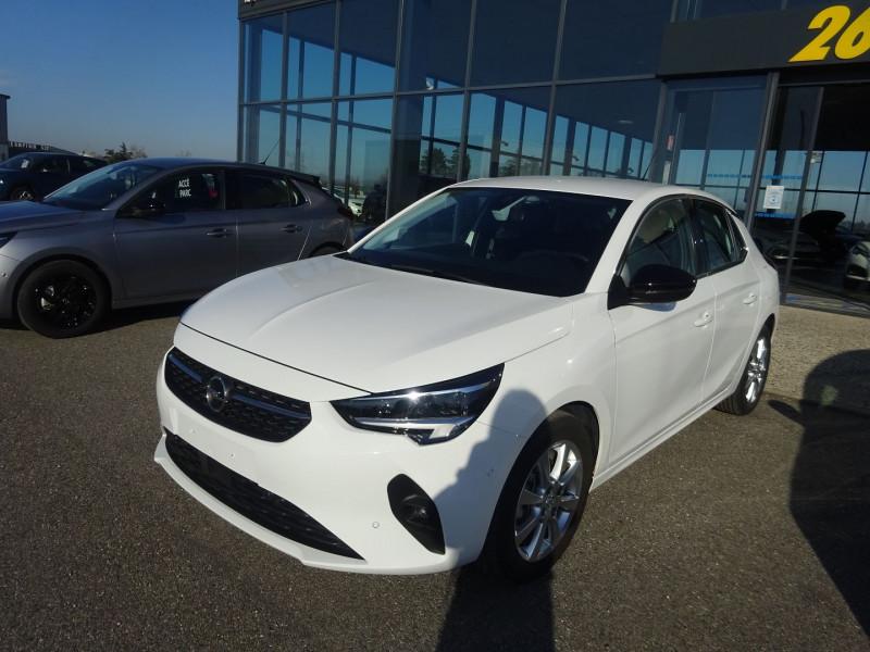 Opel CORSA 1.2 TURBO 100CH ELEGANCE Essence BLANC ALPIN Occasion à vendre