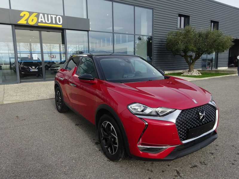 Photo 3 de l'offre de DS DS 3 CROSSBACK PURETECH 130CH SO CHIC AUTOMATIQUE à 23690€ chez 26 AUTO