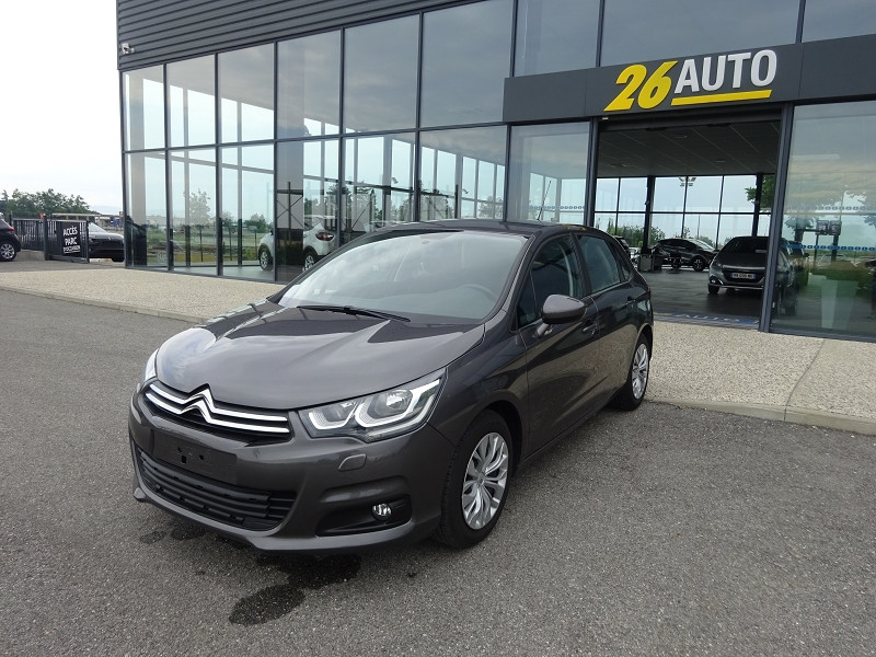Photo 1 de l'offre de CITROEN C4 BLUEHDI 100CH FEEL à 12590€ chez 26 AUTO