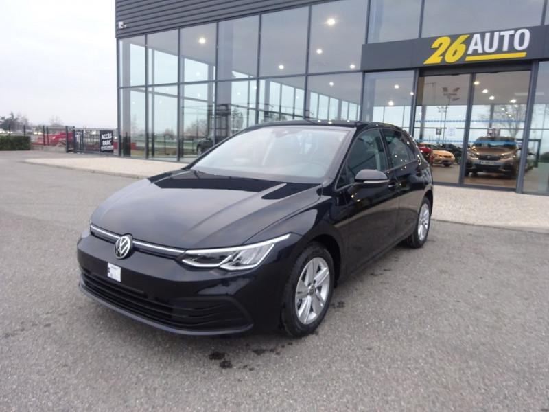 Volkswagen GOLF VIII 1.5 ETSI OPF 150CH LIFE 1ST DSG7 130G Essence NOIR INTENSE Neuf à vendre