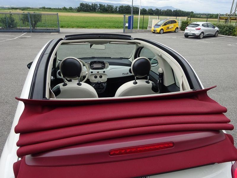 Photo 7 de l'offre de FIAT 500C 1.2 8V 69CH LOUNGE à 10790€ chez 26 AUTO
