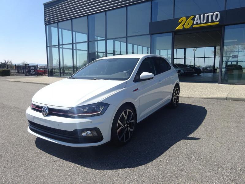 Volkswagen POLO 2.0 TSI 200CH GTI DSG6 EURO6D-T Essence BLANC Occasion à vendre
