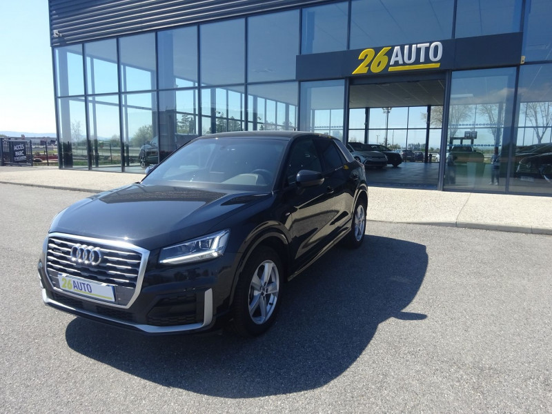 Audi Q2 35 TDI 150CH S LINE QUATTRO S TRONIC 7 EURO6D-T 134G Diesel NOIR MYTHIC Occasion à vendre