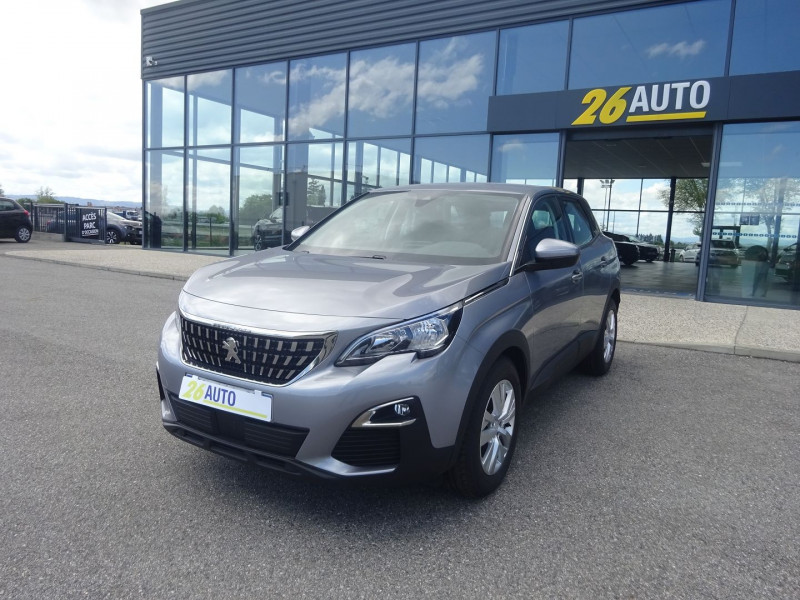 Peugeot 3008 1.2 PURETECH 130CH ACTIVE S&S Essence GRIS ARTENSE Occasion à vendre