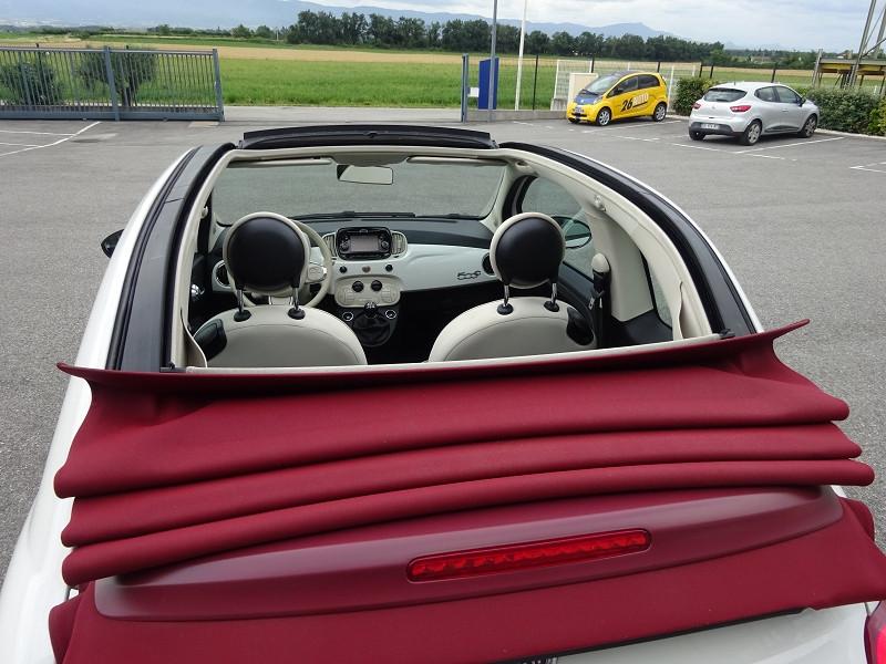 Photo 8 de l'offre de FIAT 500C 1.2 8V 69CH LOUNGE à 11390€ chez 26 AUTO