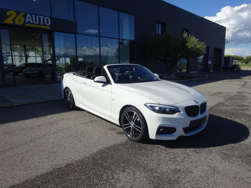 Photo 3 de l'offre de BMW SERIE 2 CABRIOLET (F23) 218DA 150CH M SPORT à 37990€ chez 26 AUTO