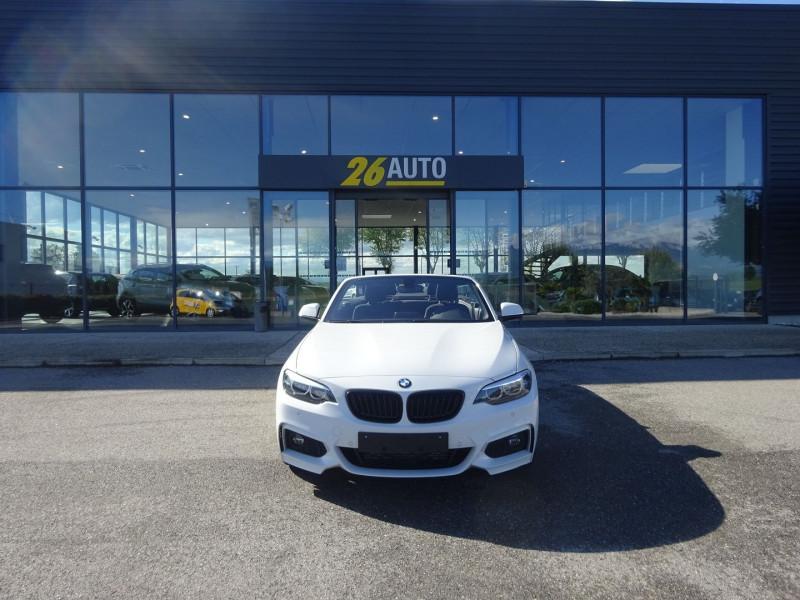 Photo 2 de l'offre de BMW SERIE 2 CABRIOLET (F23) 218DA 150CH M SPORT à 37990€ chez 26 AUTO