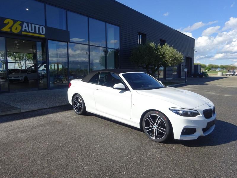 Photo 6 de l'offre de BMW SERIE 2 CABRIOLET (F23) 218DA 150CH M SPORT à 37990€ chez 26 AUTO
