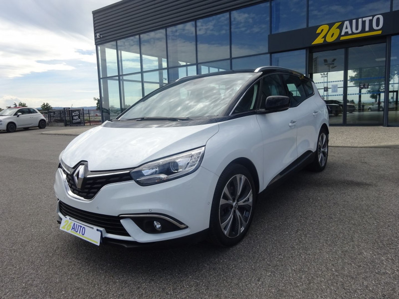Renault GRAND SCENIC IV 1.5 DCI 110CH ENERGY BUSINESS INTENS 7 PLACES Diesel BLANC Occasion à vendre