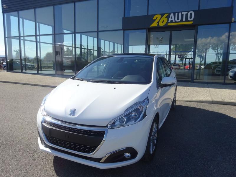 Peugeot 208 1.2 PURETECH 82CH E6.2 EVAP ALLURE 5P Essence BLANC Occasion à vendre