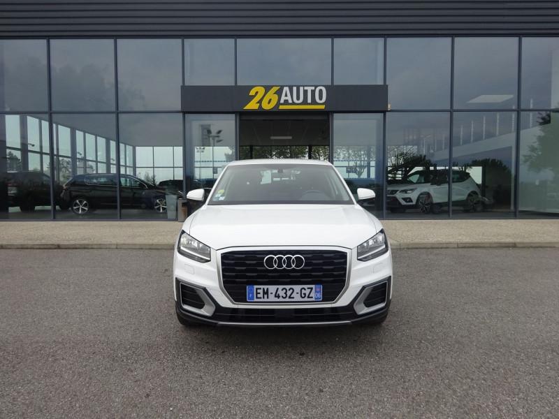 Audi Q2 1.6 TDI 116CH DESIGN S TRONIC 7 Diesel BLANC Occasion à vendre